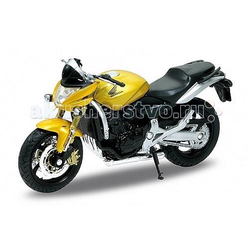 Welly Модель мотоцикла 1:18 Honda HornetМодель мотоцикла 1:18 Honda HornetМодель мотоцикла 1:18 Honda Hornet  Коллекционная модель мотоцикла масштаба 1:18 Honda Hornet.<br>
