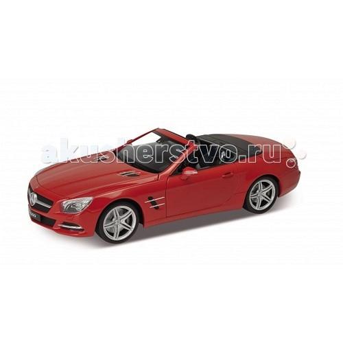 Welly Модель машины 1:18 Mercedes-Benz SL500Модель машины 1:18 Mercedes-Benz SL500Модель машины 1:18 Mercedes-Benz SL500  Коллекционная модель машины масштаба 1:18 Mercedes-Benz SL500.  Функции: открываются передние двери, капот, багажник, поворотом руля поворачиваются передние колеса.<br>