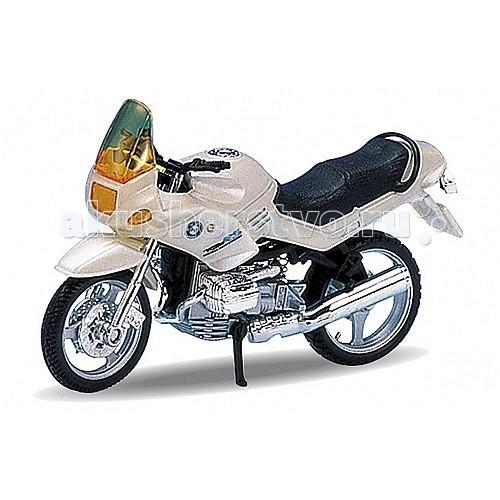 Welly Модель мотоцикла 1:18 BMW R1100RSМодель мотоцикла 1:18 BMW R1100RSМодель мотоцикла 1:18 BMW R1100RS  Коллекционная модель машины масштаба 1:18 BMW R1100RS.  Функции: открываются передние двери, капот, багажник, поворотом руля поворачиваются передние колеса.<br>