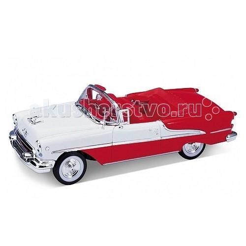 Welly Модель винтажной машины 1:24 Oldsmobile Super 1955Модель винтажной машины 1:24 Oldsmobile Super 1955Модель винтажной машины 1:24 Oldsmobile Super 1955  Коллекционная модель винтажной машины.   Функции: открываются передние двери, капот.<br>