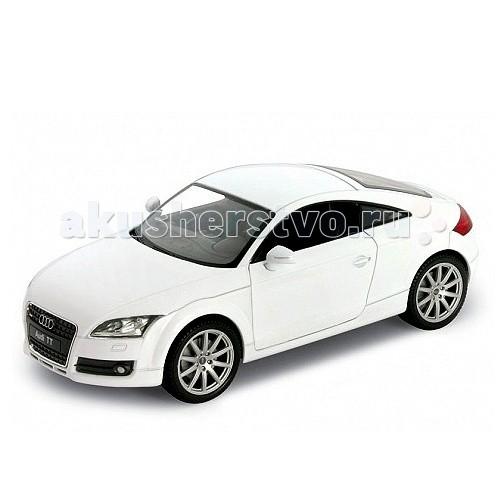 Welly Модель машины 1:24 Audi TT CoupeМодель машины 1:24 Audi TT CoupeМодель машины 1:24 Audi TT Coupe  Коллекционная модель машины масштаба 1:24 Audi TT Coupe.   Функции: открываются передние двери, капот.<br>