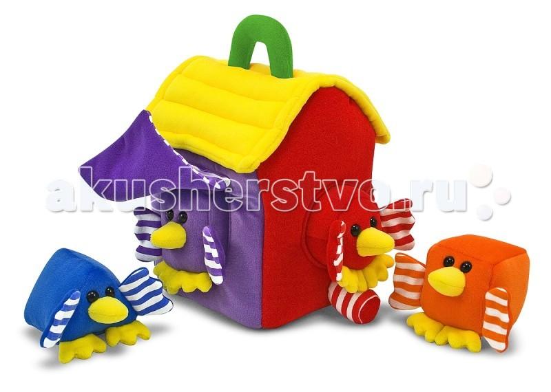 Мягкая игрушка Melissa & Doug сортировщик Птички
