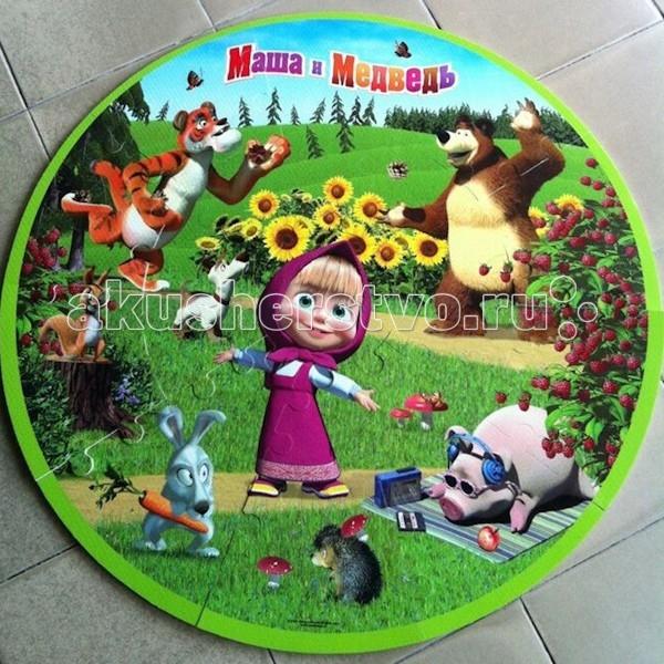 Игровой коврик Играем вместе Пазл Маша и Медведь