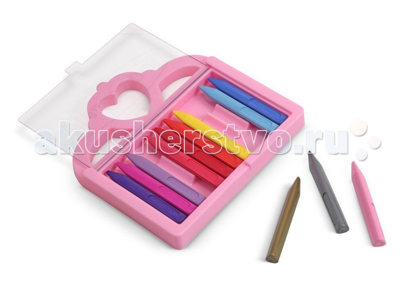 Melissa &amp; Doug Набор карандашей для ПринцессыНабор карандашей для ПринцессыMelissa & Doug Набор карандашей для Принцессы - набор карандашей уникален, они сделаны не из воска, а из специального полимера, который нетоксичен и обладает большой прочностью.  Благодаря своей треугольной форме, карандаши не катаются по столу и Ваш малыш найдёт их там, где оставил.  Набор в себя включает 12 мелков супер-ярких цветов, которые упакованы в удобную пластиковую коробку.<br>