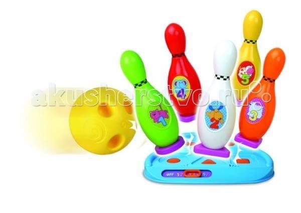 Музыкальная игрушка Unimax Веселый боулинг