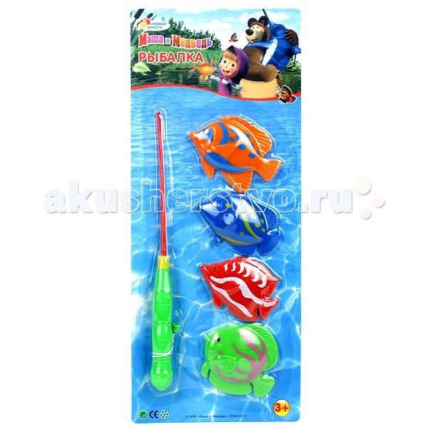 Играем вместе Игра Рыбалка Маша и Медведь B526466-R2