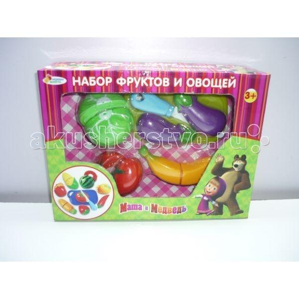 Играем вместе Набор фруктов и овощей Маша и Медведь B847981-R
