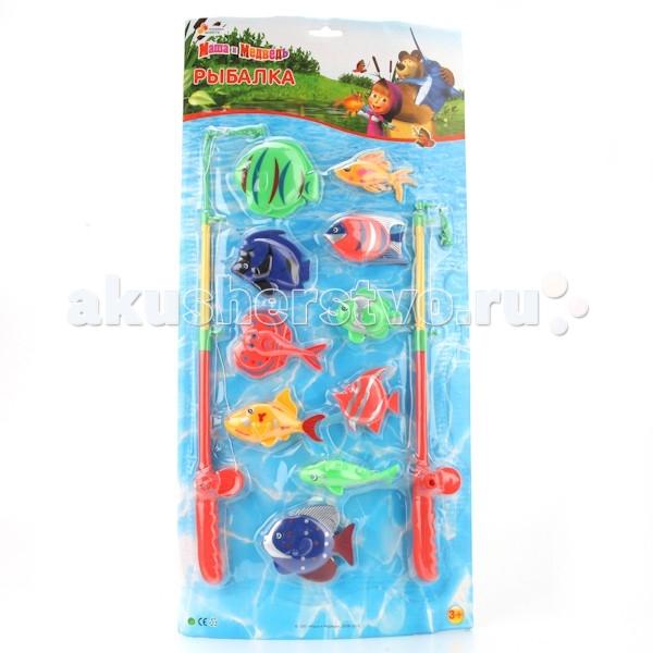 Играем вместе Игра Рыбалка Маша и Медведь D938-H24041-R2