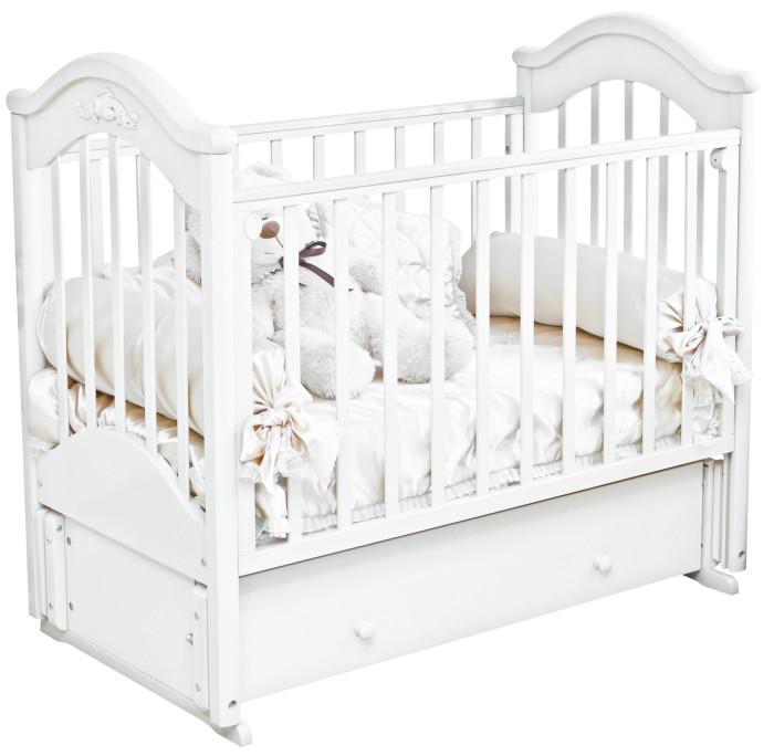 Детская кроватка Можга (Красная Звезда) Ефросинья С-554 (маятник продольный)