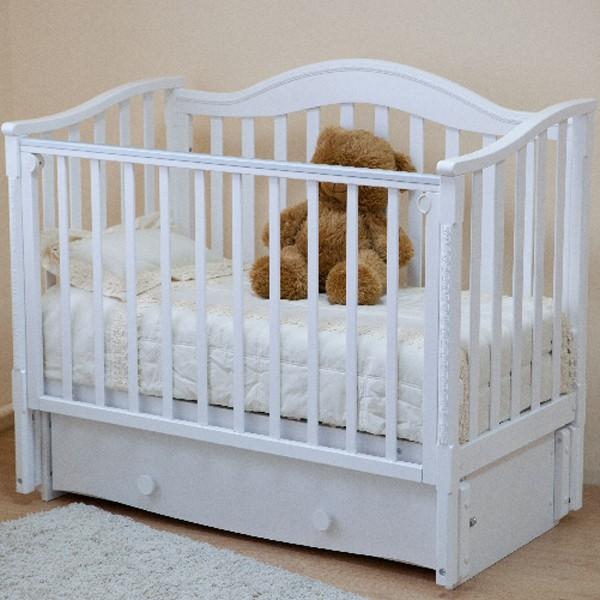 Детская кроватка Можга (Красная Звезда) Леонардо С-770 (продольный маятник)