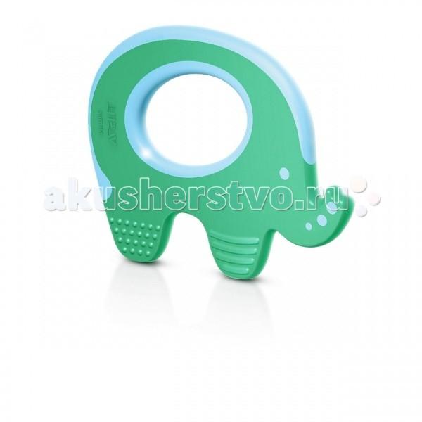 Прорезыватель Philips-Avent СлоникСлоникКак и вся продукция Philips Avent, прорезыватели разработаны с учетом новейших достижений науки.   Прорезыватель предназначен для разных стадий прорезывания: передних, задних и боковых зубов. Прорезыватель Philips Avent гигиеничен, легко моется и при необходимости стерилизуется.   Дополнительное преимущество – интересная конструкция, что поможет малышу отвлечься от неприятных ощущений.  Прорезыватель одобрен ортодонтами, не нарушает естественное развитие прикуса. Удобно держать в руке. Легко моется. Мойте теплой водой. Не содержит бисфенол-А. Для детей от 3 мес.<br>