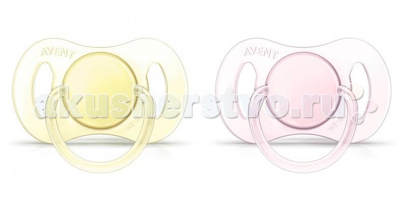Пустышка Philips-Avent силиконовая мини для девочки 0-2 мес. 2 шт. от Акушерство