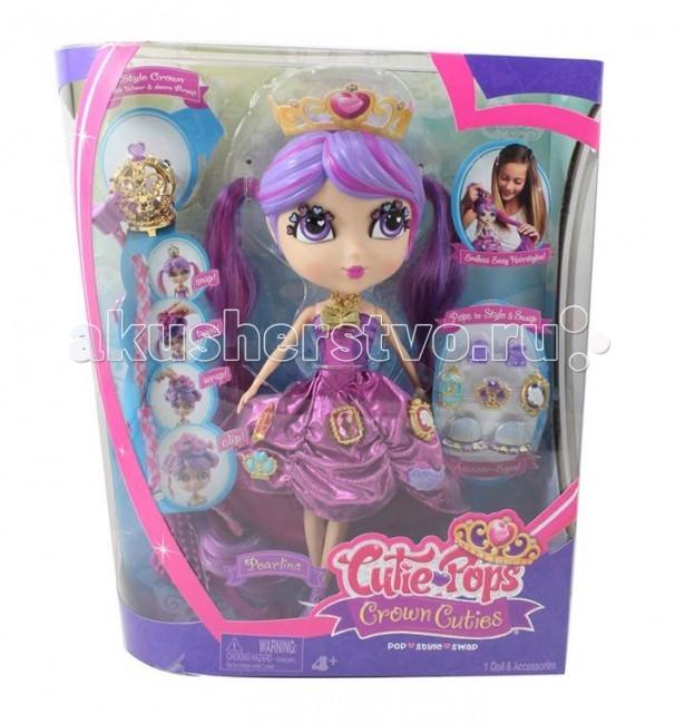 Jada Dolls Набор Кьюти Попс Принцессы ПелинаDolls Набор Кьюти Попс Принцессы ПелинаНабор Кьюти Попс - Принцессы. Кукла Пелина.  Кукла Кьюти Попс Доллз Пелина, серии Принцессы, Jada, 96691. В детском игровом наборе Кьюти Попс Доллз Cutie Pops Dolls – Принцессы есть очень красивая кукла по имени Пелина. Она одета в очаровательное платьице фиолетового цвета, а на прелестной головке принцессы – корона. Ручки, ножки и головка у куклы могут двигаться, так как они – на шарнирных соединениях.  В этом детском игровом наборе имеются: кукла Пелина, одетая в нарядное платьице и с короной на голове две пышных пряди волос «конские хвостики» для создания новых причесок 8 украшений для платьица и прически принцессы – крутящиеся и неподвижные расческа.<br>