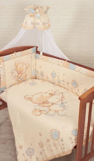 Комплект для кроватки Золотой Гусь Mika (7 предметов)
