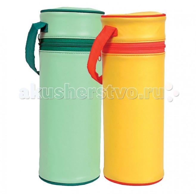 Курносики Контейнер для стандартной бутылочкиКонтейнер для стандартной бутылочкиПомогает сохранить оптимальную температуру питания. Идеален для продолжительных прогулок и поездок.  Рекомендуемый возраст: 0 мес.+ Материал: полиуретан, ПВХ  Размер индивидуальной упаковки: 0,14 х 0,23 х 0,1 м. Подходят прекрасно для бутылочек объемом 250 мл.<br>