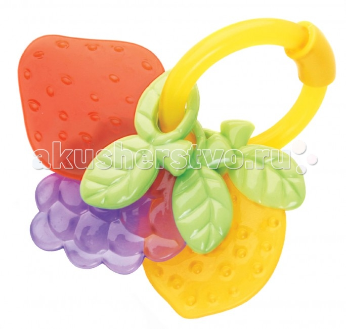 Прорезыватель Мир детства Карамельные фрукты