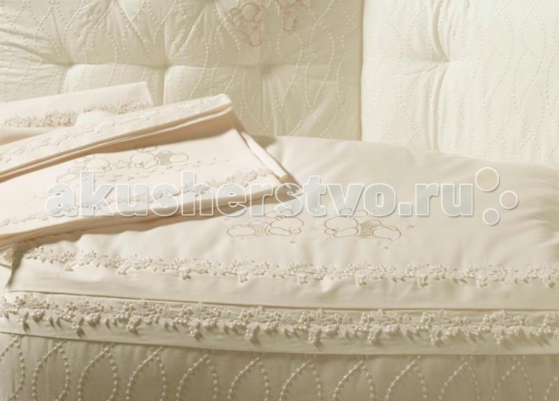 Одеяло BabyPiu Punto corallo из ткани пике с вышивкой для кроватки