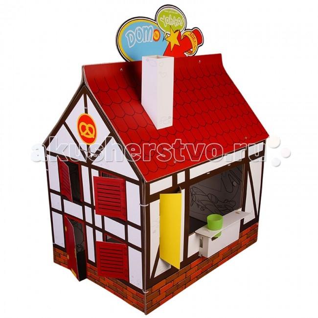 Игровой домик Yoh-ho! Детский раскраска cменный декорДетский раскраска cменный декорДетский домик-раскраска Yoh-ho cменный декор.  Ребенку быстро надоедает новое, и детская превращается в склад заброшенных игрушек. Мы создали домик, который никогда не надоест! Сменный декор крепится к бурой основе домика-ширмы хомутиками через вырубленные отверстия и кардинально меняет игру! Белая сторона с раскраской остается внутри домика. В период праздников в домике можно прятать подарки, а почтовый ящик ждет писем Деду Морозу или Доброй Феи с просьбами от вашего малыша! Сменный декор ЙОХО! продается в комплекте с домиком-раскраской КЛАССИКА.  Сменный декор ЙОХО! продается с игровым реквизитом:  труба-раскраска  флаги  вывески  навес  монетки термометр.<br>