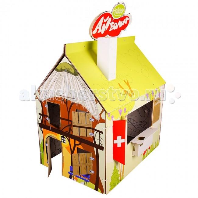 Игровой домик Yoh-ho! Детский раскраска Сменный декор Доктор Айболит