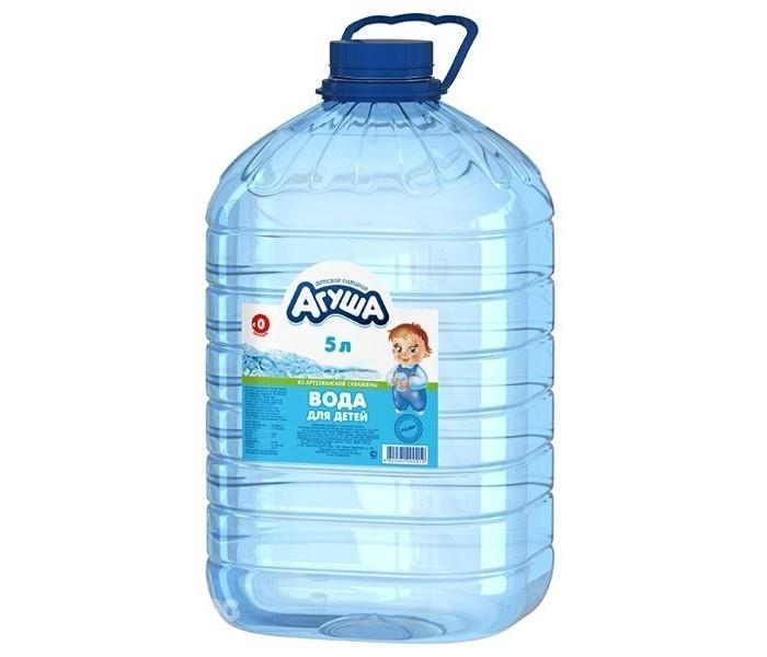Агуша Вода для детей 5 л