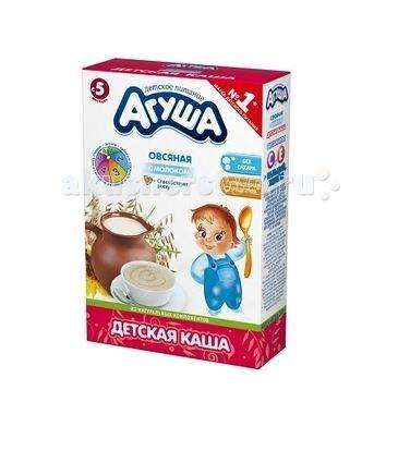 Агуша Безмолочная Каша Овсянка 200 г