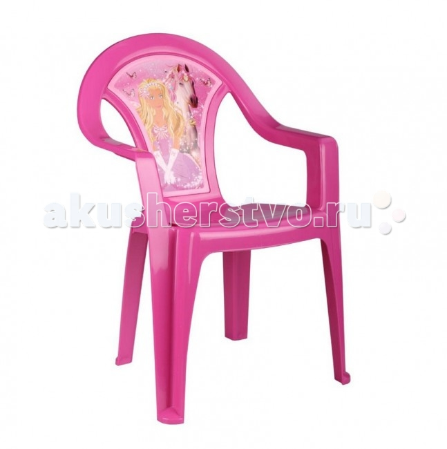 Альтернатива (Башпласт) Кресло детское Принцесса