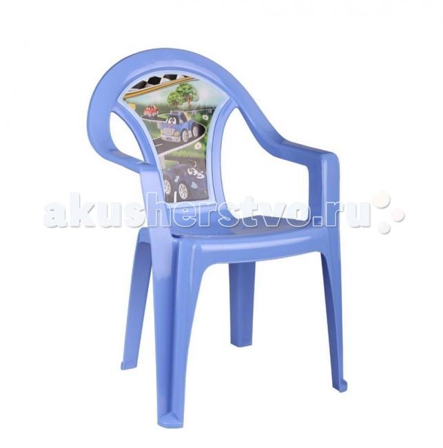 Альтернатива (Башпласт) Кресло детское Тачки