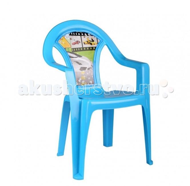Альтернатива (Башпласт) Кресло детское ФорсажКресло детское ФорсажАльтернатива Кресло детское Форсаж - это яркий, легкий и удобный пластмассовый детский стульчик можно использовать как для кормления подросших малышей, так и для обучения и игр за детским столиком.   Стульчик прочный, но при этом легкий. Изготовлен из экологически чистого пластика.<br>