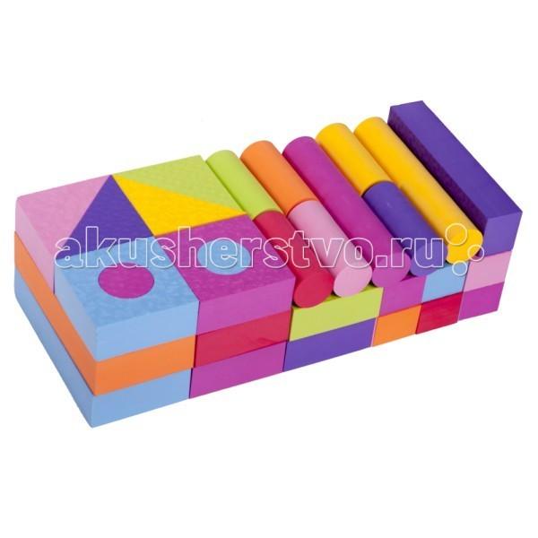 Конструктор Moove&amp;Fun мягкий 50 блоков MF-EVA-08Sмягкий 50 блоков MF-EVA-08SКонструктор Moove&Fun мягкий – необходимый и веселый помощник в развитии мелкой моторики, что, в свою очередь, способствует развитию речи ребенка, зрения, внимания, памяти, его воображения и интеллекта.  Игровой мягкий набор 50 блоков. Толщина блока 5 см.  Мягкие и безопасные конструкторы знакомят ребенка с формой, цветом, размером. Вспомните, какие цвета имели игрушки из Вашего детства? Ограниченный набор тусклых типовых цветов : красный, белый, синий, зеленый, желтый, белый. Мы заботимся о том, чтобы детство наших детей было ярким и интересным. И говорим «нет» блеклым невыразительным цветам! Создавайте любые игровые формы ярких сочных цветов с помощью мягких конструкторов !   Элементы конструктора не впитывают воду, но если их намочить, они прилипают к поверхности ванны, к плитке, друг к другу.   Материал: EVA (Этиленвинилацетат-безопасный, экологически чистый материал) Производство соответствует стандарту ISO9001 сертификации систем качества США  Способы ухода: При необходимости протирать мягкой тканью, смоченной в слабом мыльном растворе. Запрещается применять растворители, сольвенты, абразивные вещества для очистки набора.<br>