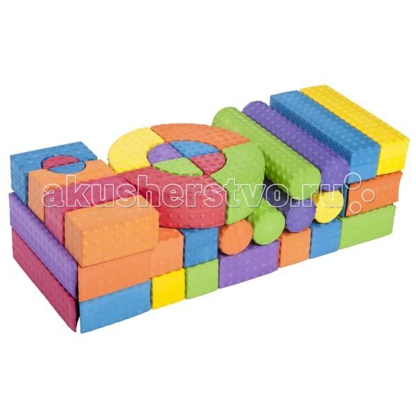 Конструктор Moove&Fun мягкий 54 блока MF-EVA-Y-01 мягкий 54 блока MF-EVA-Y-01 MF-EVA-Y-01