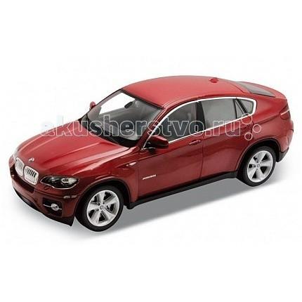 Welly Модель машины 1:24 BMW X6Модель машины 1:24 BMW X6Модель машины 1:24 BMW X6  Коллекционная модель масштаба 1:24 BMW X6.   Функции: открываются передние двери, капот.<br>