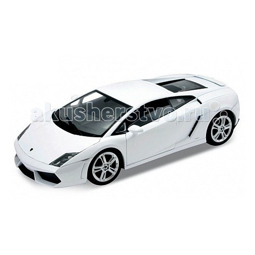 Welly Модель машины 1:24 Lamborghini GallardoМодель машины 1:24 Lamborghini GallardoМодель машины 1:24 Lamborghini Gallardo  Коллекционная модель масштаба 1:24 Lamborghini Gallardo.   Функции: открываются передние двери, капот.<br>