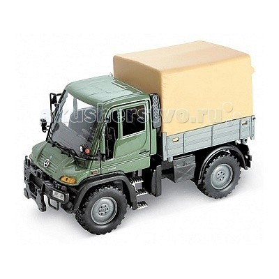 Welly ������ ������ 1:32 Mercedes-Benz Unimog U400 � ��������