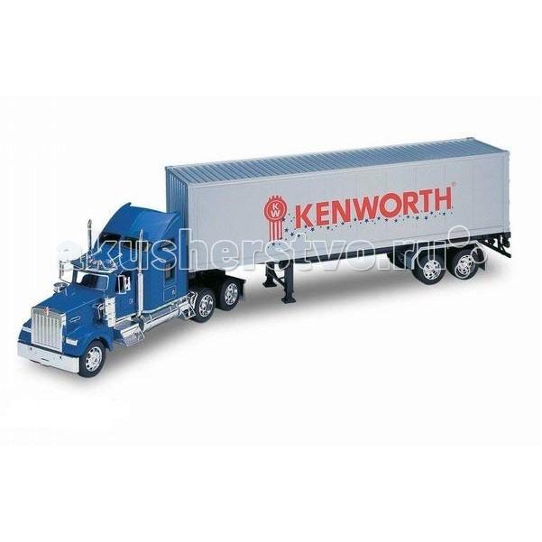 Welly Модель грузовика 1:32 Kenwrth W900 (прицеп)Модель грузовика 1:32 Kenwrth W900 (прицеп)Модель грузовика 1:32 Kenwrth W900 (прицеп)  Коллекционная модель седельного тягача с полуприцепом Kenwrth W900 в масштабе 1:32.<br>