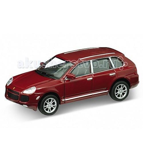 Welly Модель машины 1:31 Porsche Cayenne TurboМодель машины 1:31 Porsche Cayenne TurboМодель машины 1:31 Porsche Cayenne Turbo  Коллекционная модель машины масштаба 1:31 Porsche Cayenne Turbo.   Функции: открываются передние двери, инерционный механизм.<br>