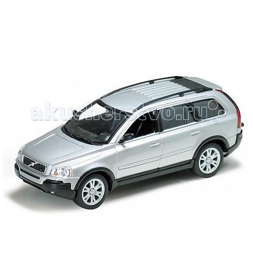 Welly Модель машины 1:32 Volvo XC90Модель машины 1:32 Volvo XC90Модель машины 1:32 Volvo XC90  Коллекционная модель машины масштаба Volvo XC90.   Функции: открываются передние двери, инерционный механизм.<br>