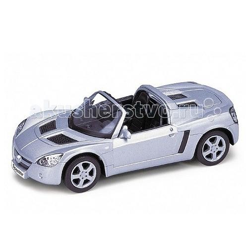 Welly Модель машины 1:34-39 Opel SpeedsterМодель машины 1:34-39 Opel SpeedsterМодель машины 1:34-39 Opel Speedster  Коллекционная модель машины масштаба 1:34-39 Opel Speedster.   Функции: открываются передние двери, инерционный механизм.<br>