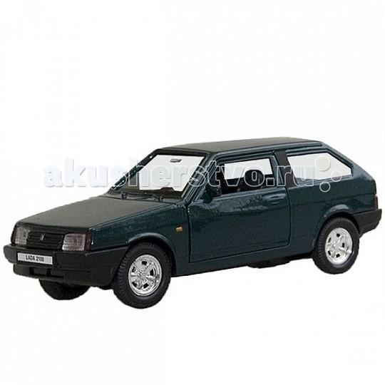 Welly Модель машины 1:34-39 Lada 2108Модель машины 1:34-39 Lada 2108Модель машины 1:34-39 Lada 2108  Коллекционная модель машины масштаба 1:34-39 Lada 2108.   Функции: открываются передние двери, инерционный механизм.<br>