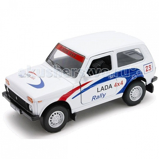 Welly ������ ������ 1:34-39 Lada 4x4 Rally