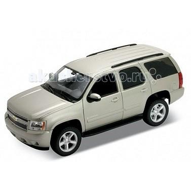 Welly Модель машины 1:34-39 Chevrolet TahoeМодель машины 1:34-39 Chevrolet TahoeМодель машины 1:34-39 Chevrolet Tahoe  Функции: открываются передние двери, инерционный механизм.<br>