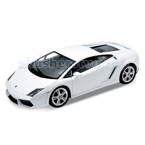 Welly Модель машины 1:34-39 Lamborghini GallardoМодель машины 1:34-39 Lamborghini GallardoМодель машины 1:34-39 Lamborghini Gallardo  Коллекционная модель машины масштаба 1:34-39.   Функции: открываются передние двери, инерционный механизм.<br>