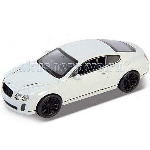 Welly Модель машины 1:34-39 Bentley Continental SupersportsМодель машины 1:34-39 Bentley Continental SupersportsМодель машины 1:34-39 Bentley Continental Supersports  Коллекционная модель машины масштаба 1:34-39 Bentley Continental Supersports. Масштабированная лицензионная модель автомобиля станет прекрасным подарком не только для маленького автолюбителя, но и для взрослого коллекционера.   У машины открываются передние двери, инерционный механизм.<br>