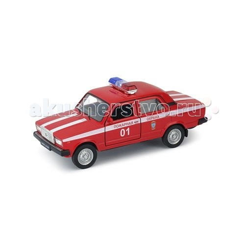 Welly Модель машины 1:34-39 Lada 2107 Пожарная охрана