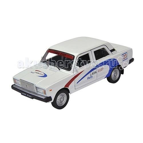 Welly Модель машины 1:34-39 Lada 2107 RallyМодель машины 1:34-39 Lada 2107 RallyМодель машины 1:34-39 Lada 2107 Rally  Коллекционная модель машины масштаба 1:34-39 Lada 2107 Rally.<br>
