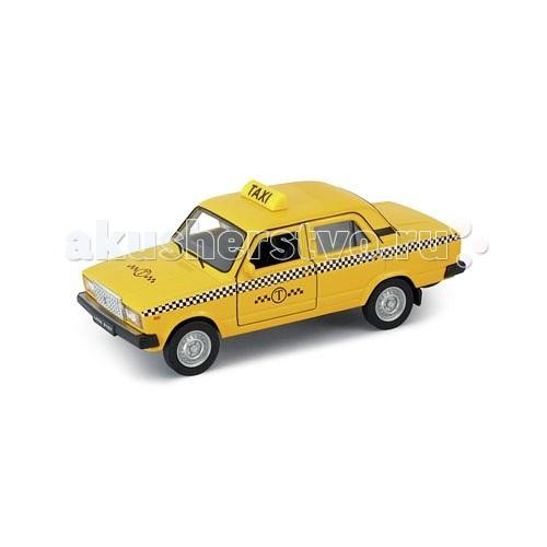 Welly Модель машины 1:34-39 Lada 2107 ТаксиМодель машины 1:34-39 Lada 2107 ТаксиМодель машины 1:34-39 Lada 2107 Такси  Коллекционная модель машины масштаба 1:34-39 Lada 2107 Такси.<br>
