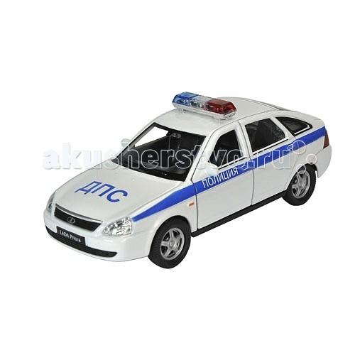 Welly Модель машины 1:34-39 Lada Priora ПолицияМодель машины 1:34-39 Lada Priora ПолицияМодель машины 1:34-39 Lada Priora Полиция  Коллекционная модель машины масштаба 1:34-39 Lada Priora Полиция.<br>