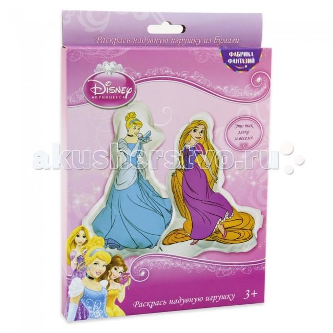 Раскраска Disney Набор для раскрашивания надувных игрушек из бумаги Золушка и РапунцельНабор для раскрашивания надувных игрушек из бумаги Золушка и РапунцельНабор для раскрашивания надувных игрушек из бумаги Disney Золушка и Рапунцель станет отличным подарком для вашего малыша и будет способствовать развитию у него художественного вкуса, фантазии и восприятия форм и цветов. В наборе есть все необходимое для раскрашивания надувных игрушек из бумаги.  Набор включает фигурки из бумаги, пластиковую трубочку.<br>