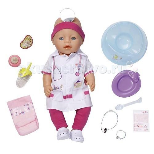 Zapf Creation Пупс Baby born интерактивная Доктор 43 см 820-421