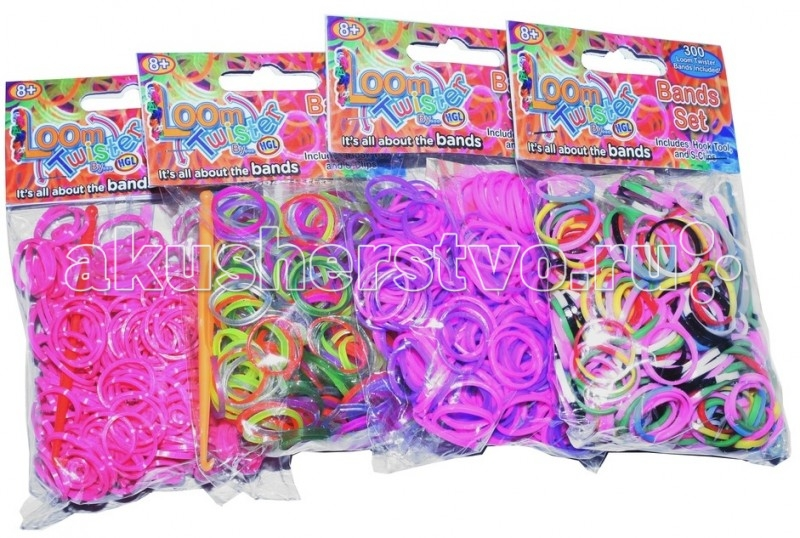 Loom Twister Набор цветных резинок для плетения фенечек SV11675