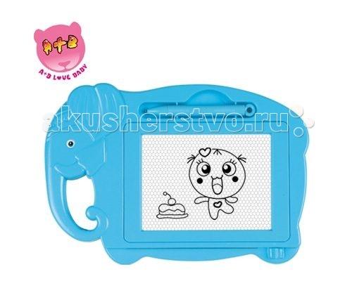 Shantou Gepai Доска для рисования СлоникДоска для рисования СлоникShantou Gepai Доска для рисования Слоник - это чудо -приспособление для рисования, которое порадует своей компактностью и дизайном и родителей, и детей.   Доска имеет поверхность, идеально подходящую для рисования полученный рисунок можно оставить, а можно стереть встроенным ластиком.<br>